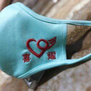 蓝色喜耀口罩(中码)